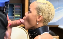 Ebony Arie Fayes wet pussy fucked by LPs big cock