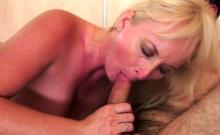 Big tits milf oral with cumshot