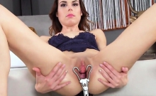 Kinky Czech Nympho Stretches Her Tight Vagina To The Bizarre