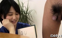Lustful Babe From Asia Is Having Fucking With Group Of Men