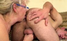 Blonde Granny Got Fucked