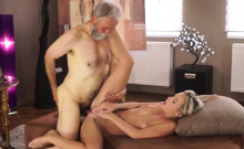 Old man spanks girl and young Sexual geography