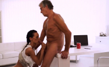 Very old mature and forest Finally she's got her boss dick