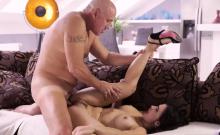 Daddy stroking Rough fucky-fucky for beautiful latina babe