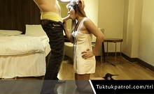 Thai Girl Blowjob On Cam