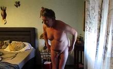 Horny Piggy Masturbate And Cum