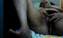 Hot 52 yo Russian mature Irina play on skype