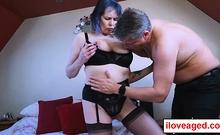 British model Tigger got a creamy from Marc's massive cock