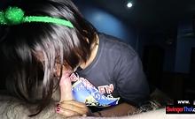 Big clitoris amateur Thai massage girl gives a happy ending
