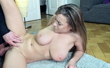 GERMAN SCOUT - BIG NATURAL TITS TEEN JOSEPHINE PICKUP FUCK