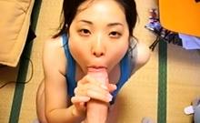 Subtitled POV Japanese bathhouse towel dropping handjob