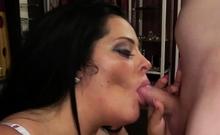 german big boobs milf with deepthroat