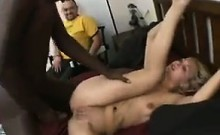 Guy Watches Girlfriend Get Fucked