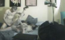 Selfish Blonde Cheater Caught On Hidden Spy Camera