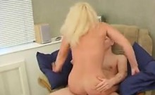 Mature Blonde Russian Wants Young Dick